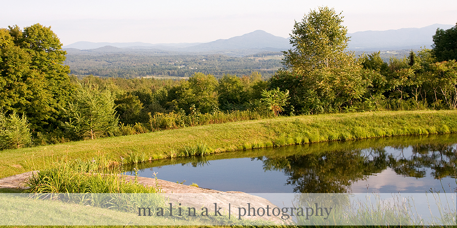Wedding venue Dreaming Mountain in Vermont, USA